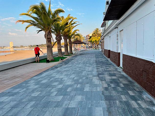 San Pedro del Pinatar, reforma del paseo marítimo