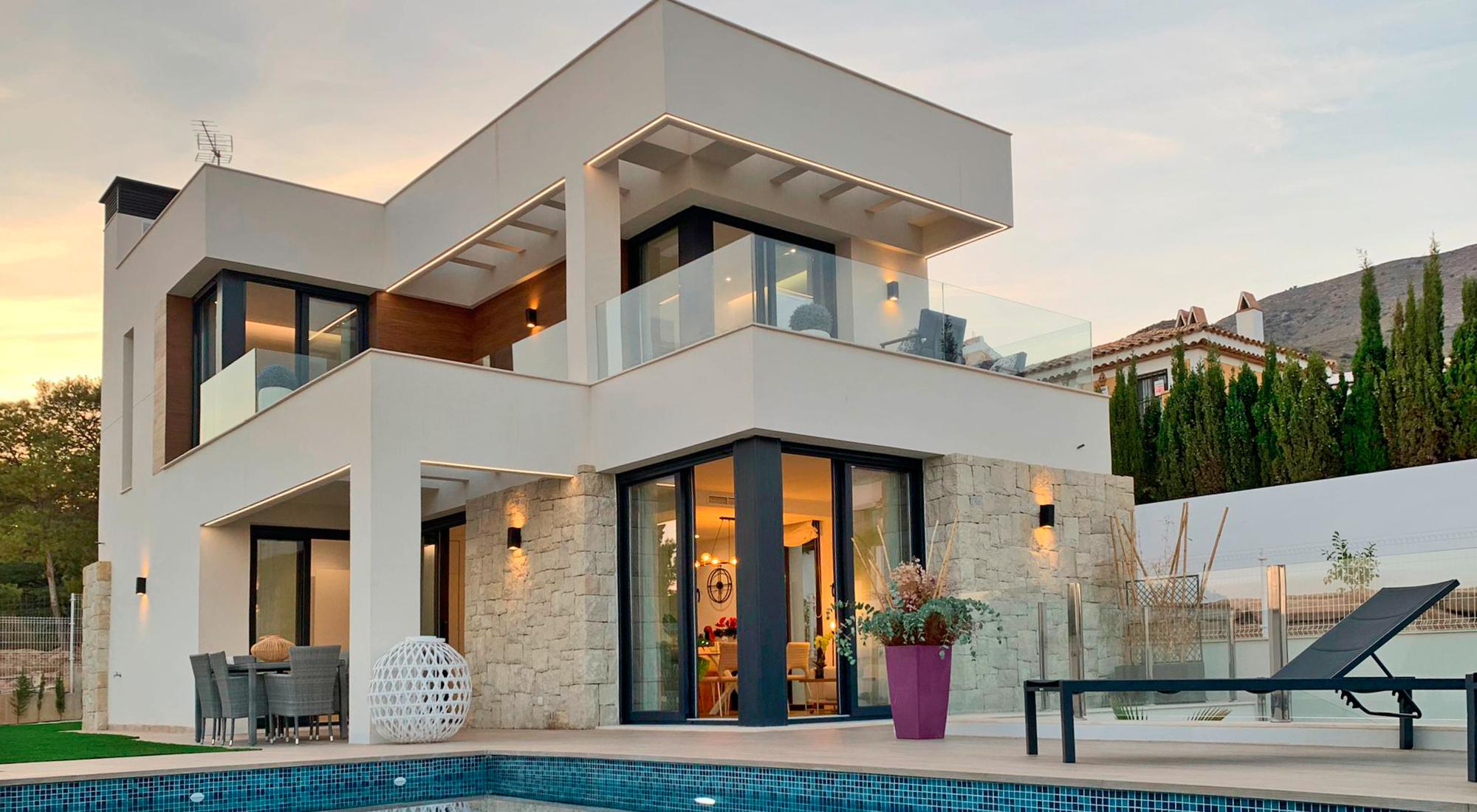 Vivienda S-Villas Finestrat Hills Alter urbana Style